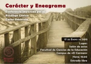 Conferencia Carácter y eneagrama