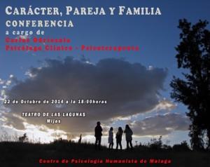 """Conferencia Carlos Odriozola """"Caracter, Pareja y Familia"""" en Mijas"""